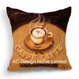 Square Café Espresso decoração de design do assento de tecido W/Enchimento