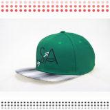 2016 nuevos casquillos 100% del Snapback del algodón con su insignia