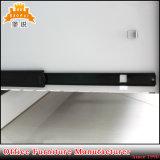 Mobilier de bureau de haute qualité vertical blanc Classeur métallique 2 tiroirs