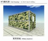 Accampamento e Camera militari del comandante Center Use Foldabel Container