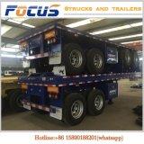 트럭 트레일러 제조자, 필리핀에 있는 판매를 위한 40foot 콘테이너 트레일러