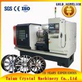 Remodelación y reparación de llanta de aleación de Torno CNC Máquina de corte de diamante a AWR32h