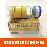 Escritura de la etiqueta libre del frasco del holograma de Enanthate de la testosterona del diseño