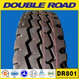 El mejor neumático chino 285/75r24.5 285 del carro del camino del doble de la marca de fábrica 75 24.5 cuatro línea neumático 1100r20 del carro del modelo de la costilla