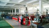 Linha de produção plástica de madeira da placa do PE do PVC de WPC