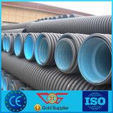 Tubo di scarico ondulato doppio di /Collector del tubo di drenaggio dell'HDPE Sn4 nel drenaggio della plastica del sistema /Corrugated del sottosuolo