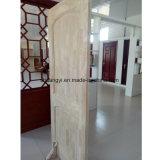 Porte d'intérieur personnalisée en bois massif en chêne blanc