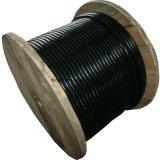 Miembro de fuerza trenzado tubo flojo de Gyfta53-Central acorazado, enterrado, cable óptico de fibra