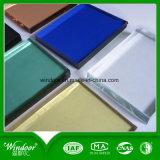 Colore dorato poco costoso che fa scorrere finestra di alluminio