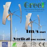 Piccola turbina di vento verticale di asse di Vawt 500W con la BV