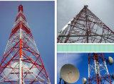 3leged het Seinhuisje van de Telecommunicatie van de Buis van het staal