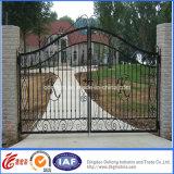 Porte d'entrée en fer forgé de haute qualité