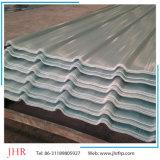 Los gases de FRP corrugado claraboya del techo de hojas de techos de fibra de vidrio