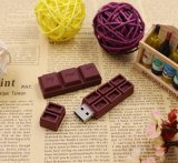 Belüftung-Schokoladen USB-Blitz-Laufwerk kundenspezifischer Karikatur-Speicher-Stock