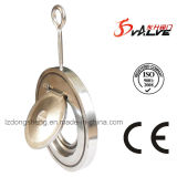 Valvola di ritenuta sottile dell'oscillazione della cialda dell'acciaio inossidabile
