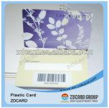 Offsetdrucken-frankierte Plastikbarcode-Geschenk-Karte