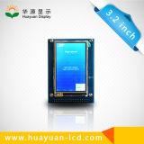 3.2 visualización del LCD de la pantalla táctil de la pulgada 320X240