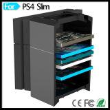 Konsolen-Kühlvorrichtung-Standplatz-Halter für PS4 PS3 Controller-Doppelaufladeeinheit