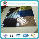 Blue Purple Golden Bronze Colored Mirror com ISO