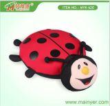 Lindo Ladybug-Shape cojín microbolas