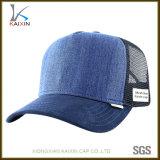 Cappello normale su ordinazione della maglia del Jean del camionista del denim per gli uomini