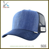 Chapéu liso feito sob encomenda do engranzamento de Jean do camionista da sarja de Nimes para homens