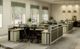 La forêt de FSC certifiée a reconnu par bureau moderne de poste de travail de bureau de partition de combinaison de GV le seul