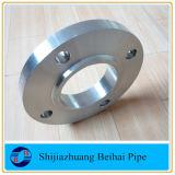 La norme ASME B16.5 une en acier inoxydable182 F304L sur les brides de patinage