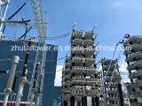 structure en acier de sous-station de cornière de 35-500kv Q345 à vendre