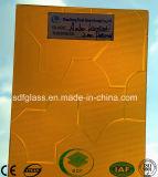 Vetro modellato ambrato di Karatachi con Ce, iso (3-8mm)