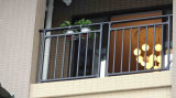 Rampe de sécurité résidentielle élégante en fer forgé
