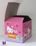 Rectángulo de regalo de empaquetado de papel modificado para requisitos particulares adorable del papel del diseño de la buena calidad