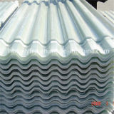 Gewölbtes Blatt des Fiberglas-Oberlicht-Dach-Panel-China-Clearful Polycarbonat-FRP