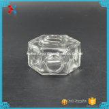 90ml 3oz Oblate Hexagon-Glashonig-Glas-Maurer-Glas mit Korken