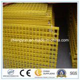 Покрынная PVC сваренная панель ячеистой сети