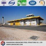 Almacén logístico de la estructura de acero del palmo grande
