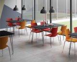 لا [فولدبل] 4 الناس [ستينلسّ ستيل] مطعم طاولة وكرسي تثبيت