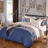 最上質の100%年の綿の極度の安い羽毛布団カバーは寝具をセットする