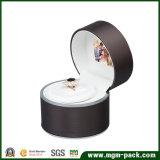 Шикарная коробка ювелирных изделий PU СИД видео- кожаный