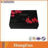 Rectángulo de regalo de papel de Pcakaging del perfume de la cartulina de la Mover de un tirón-Tapa