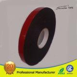 das 1mm PET Schaumgummi-Doppeltes versahen/Seiten-Band mit roter Zwischenlage mit Seiten
