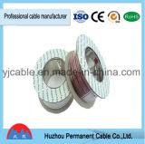 Câble noir et rouge CCA 2*0.5mm2 de haut-parleur de parallèle d'isolation de PVC