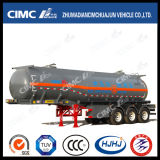 Cimc Huajun 24m3 3 Axle Chemical Liquid Tanker