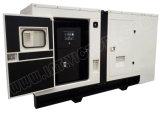 Ce/CIQ/Soncap/ISOの証明書とのホーム及び産業使用のためのパーキンズ力の無声ディーゼル発電機との74kw/93kVA