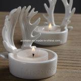 Supporto di ceramica di Tealight della decorazione di natale (CC-06)