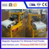 Separatore magnetico ad alta intensità asciutto per i minerali metalliferi, sabbia del rullo del quarzo