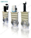 Valvola pneumatica con la valvola a saracinesca della flangia di ISO-F/di vuoto/valvola a saracinesca