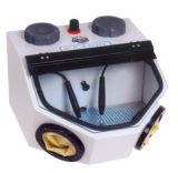 Sandblast-Schrank-Minisandstrahler mit Fuss-Pedal-Licht-Gewehr u. Düse