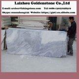 中国の低価格の大理石の曇った灰色の大理石のタイル