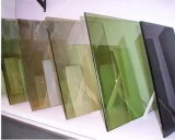 Isolados de arquitetura reflexiva temperado temperado Vidro laminado colorido (JINBO 6.38mm)